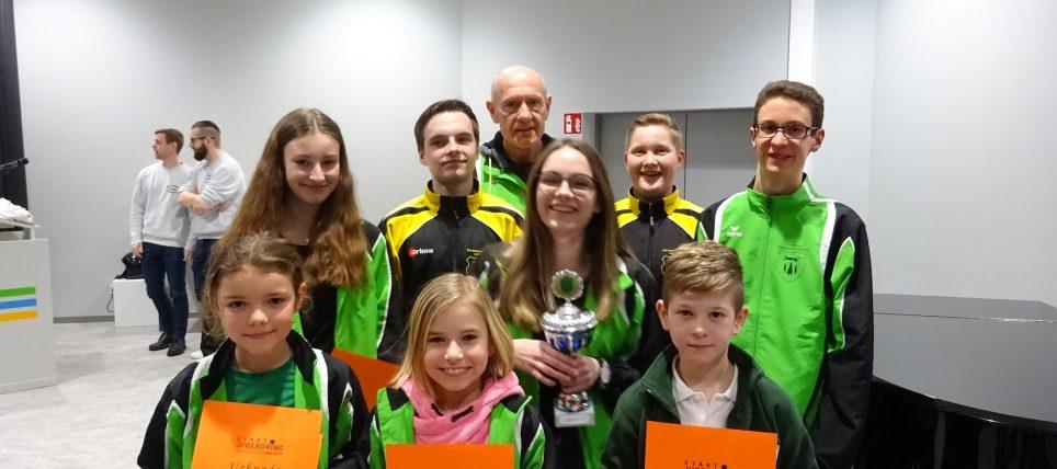 Ehrung der Jugendmeister und Jugendmeisterinnen 2017