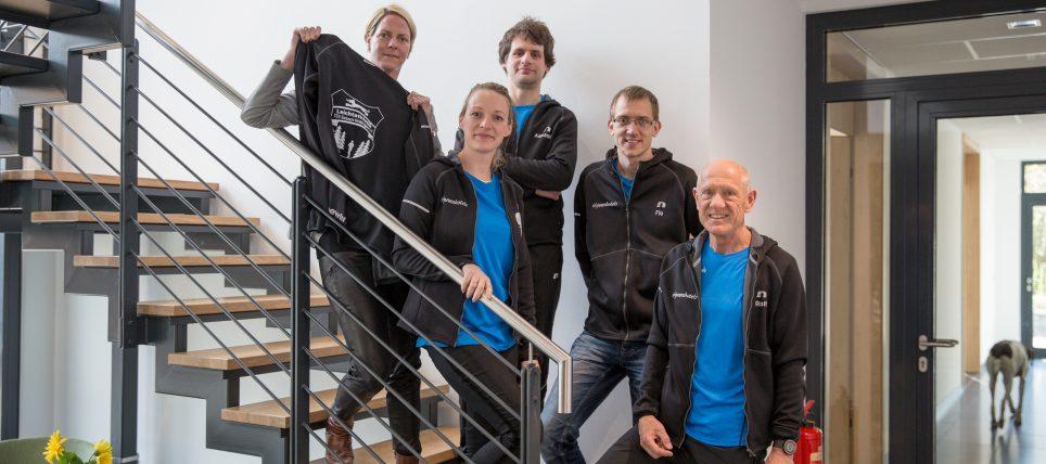 Neues Outfit für das Laufteam des TSV Eintracht Wolfshagen