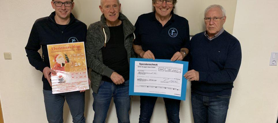 Rekord-Spendensumme von 10.000 € an das Elternhaus für krebskranke Kinder überreicht