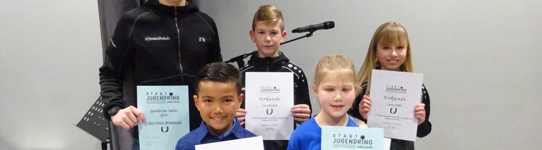 Jugendmeister der Stadt Langelsheim wurden geehrt