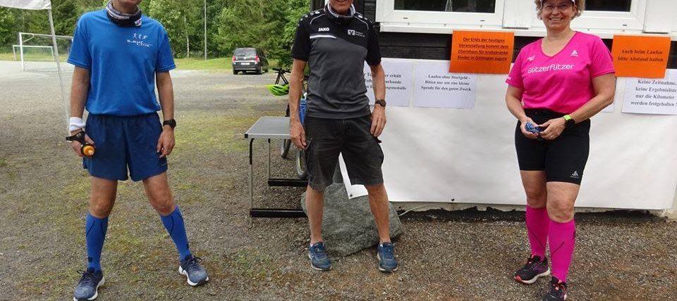 """73 Läufer machten den Wolfshäger Sommernachtslauf zu einem """"virtuellen"""" Erfolg"""