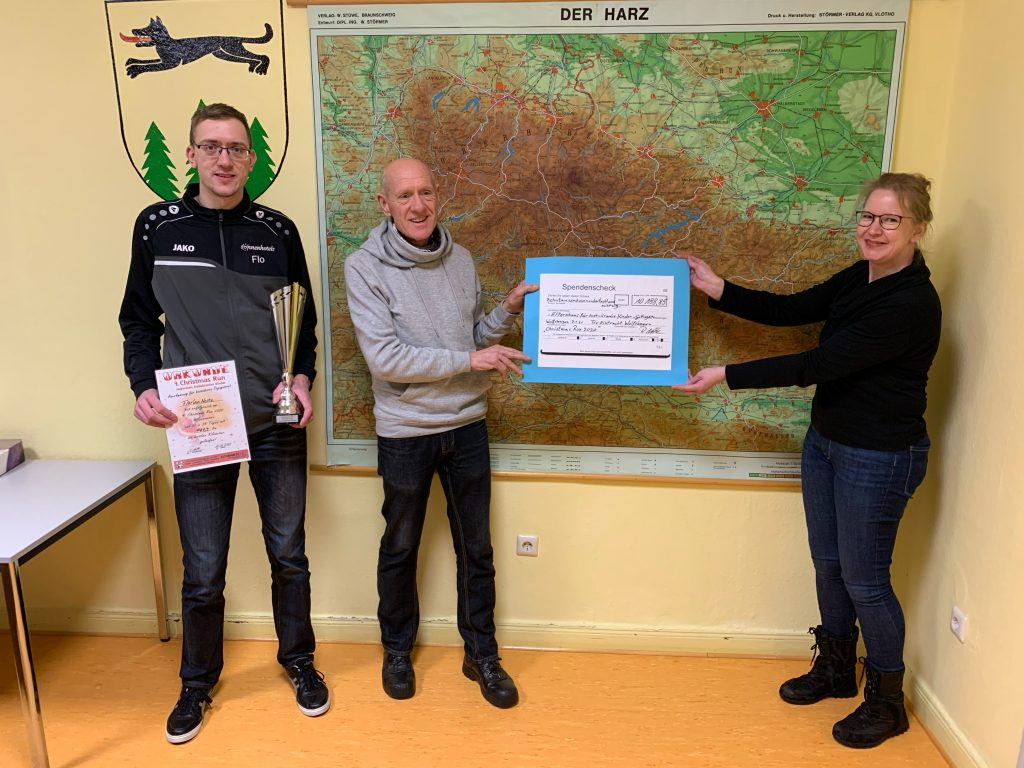 Rekordspendensumme beim Christmas Run 2020